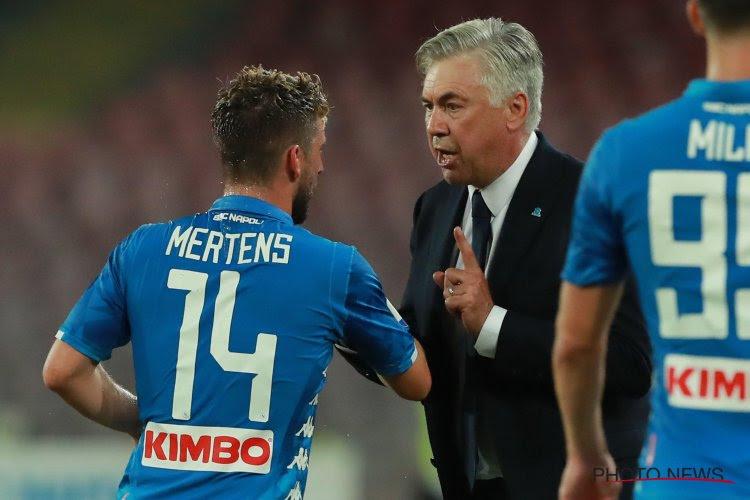 Carlo Ancelotti a pris sa décision concernant l'avenir de Dries Mertens