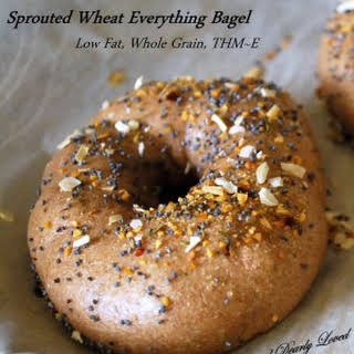 5 Ingredient Sprouted Bagels.