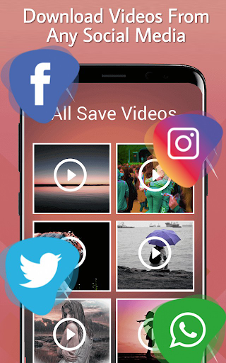 Video Downloader - Free Video Downloader app 1.7 screenshots 1