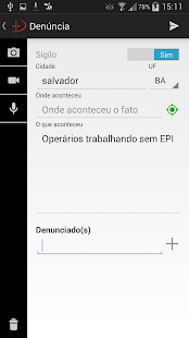 Pardal MPT - Denúncias- screenshot thumbnail
