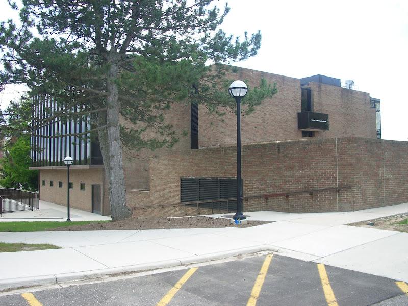 Photo: Computing Center Building (now School of Information North), 2008, North Campus, University of Michigan, Ann Arbor, Michigan, USA