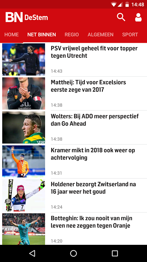 BN DeStem Nieuws: screenshot