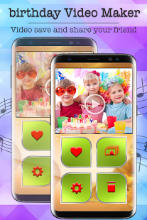 Birthday Video Maker - Slideshow Maker with Music - náhled
