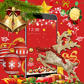 Red Merry Christmas Santa Theme Android APK Download Free By Fantastic Design