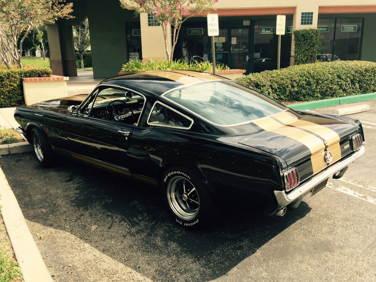 Ford Mustang fastback Hire anaheim hills