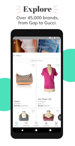 thredUP | Shop & Sell Women's & Kids' Clothing screenshot 4