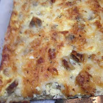 Crescent Sausage 'N Cheese Bake