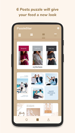 Puzzle Collage Template for Instagram - PuzzleStar 3.1.4 screenshots 3