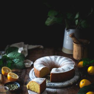 Lemon Polenta Cake.