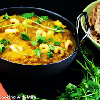 Pumpkin and Prawn Curry Recipe