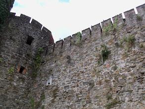 Photo: Detale architektoniczne struktury obronnej castello di Gorizia.