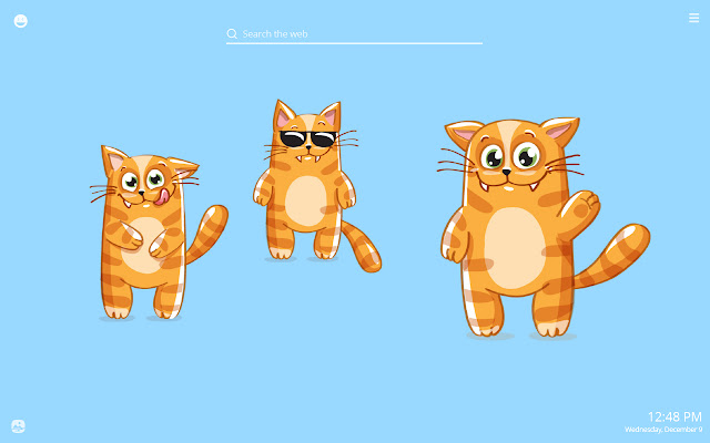 Funny Kitty Emoji HD Wallpapers New Tab Theme