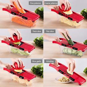 Razatoare 6 in 1 pentru legume