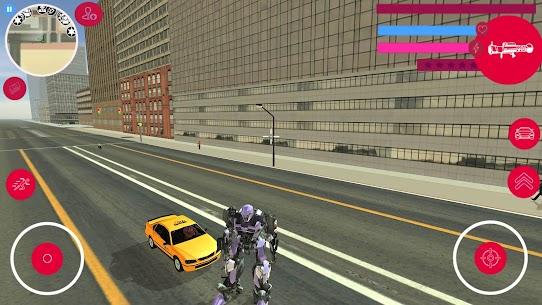 Robot Car Transforme Muscle Robot Car Simulator 3