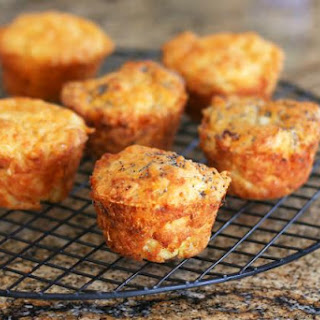Savory Onion and Cheese Muffins