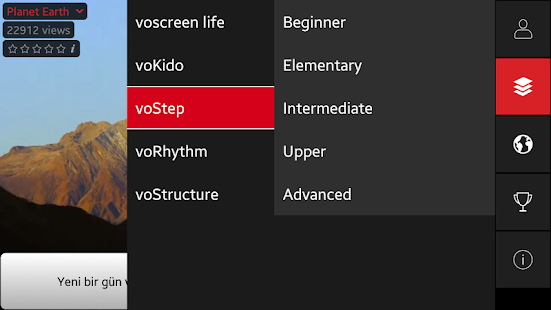 App Voscreen - Learn English with Videos APK for Windows Phone