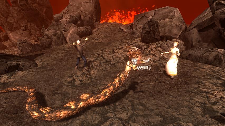 android Gorgon Simulator 3D Screenshot 2