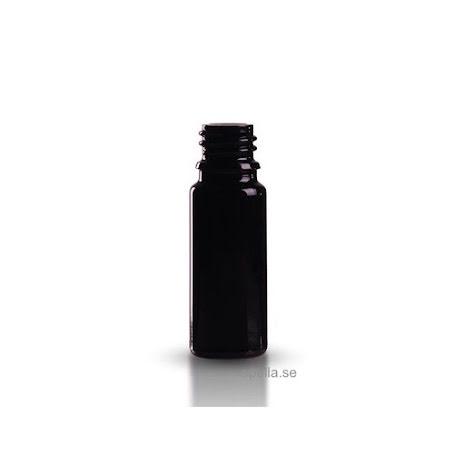 Glasflaska 10 ml -  mörklila