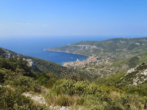 Photo: View on Komiza - Vis island