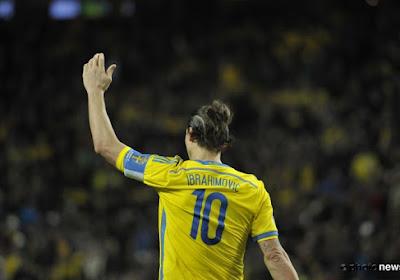 La Suède d'Ibrahimovic dans les problèmes