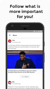 Feed List - News Feeds Aggregator. Screenshot