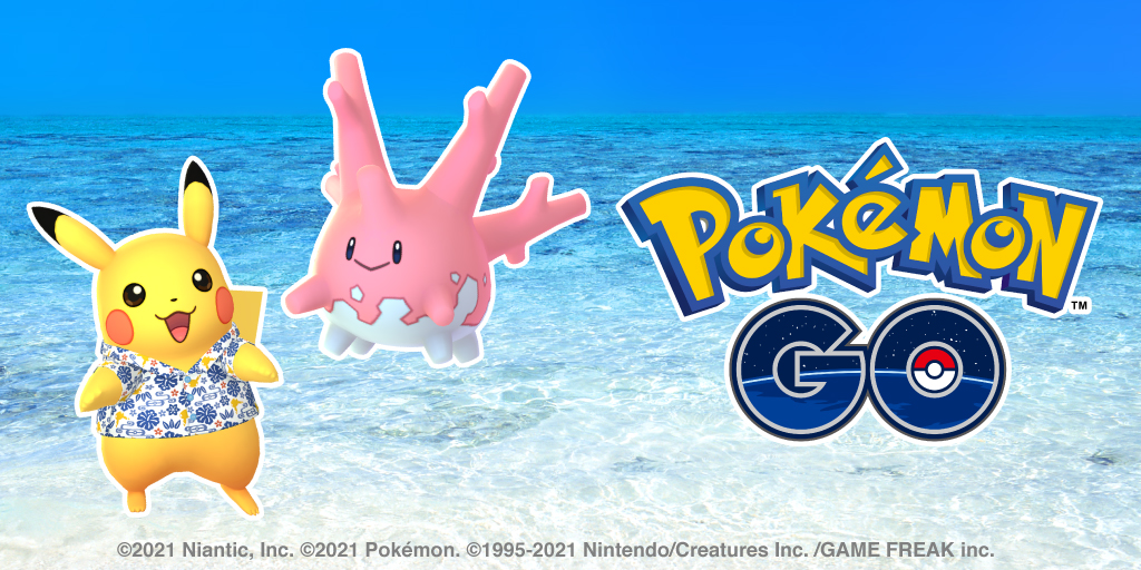 Shiny Corsola is appearing for the first time in Pokémon GO!