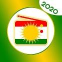 kurdish radio - all kurdish radio- radio setup icon