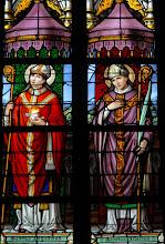 Photo: Saint Augustin d'Hippone et saint Albert (chapelle N-D de Tongre)