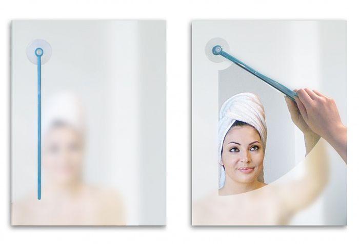 Дворники для зеркала в ванной комнате дизайн, идея, креатив