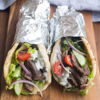 Beef Gyros {Slow Cooker or Instant Pot).