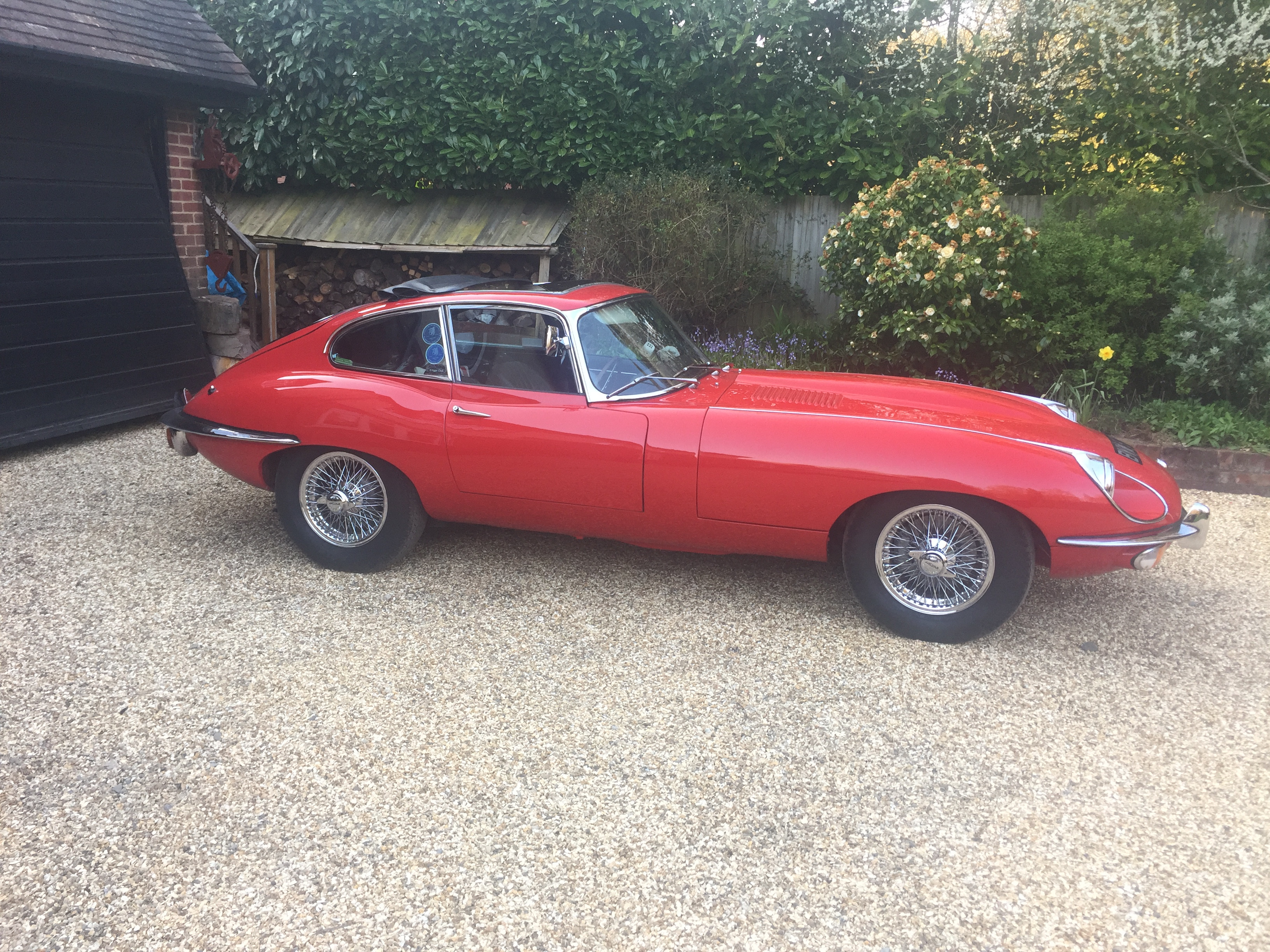 Jaguar E-type Hire Newbury