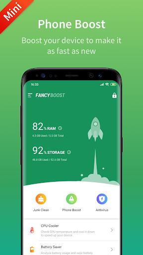 Fancy Booster - Cleaner,  Antivirus & Speed Up 1.7.1 screenshots 1