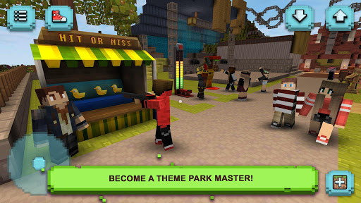 Theme Park Craft: Build & Ride 1.40-minApi19 screenshots hack proof 1