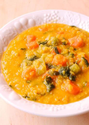 Turmeric Lentil Vegetable Soup