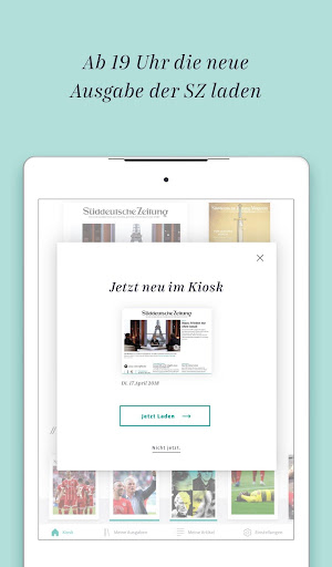 Süddeutsche Zeitung Zeitungsapp 4.1 screenshots 17