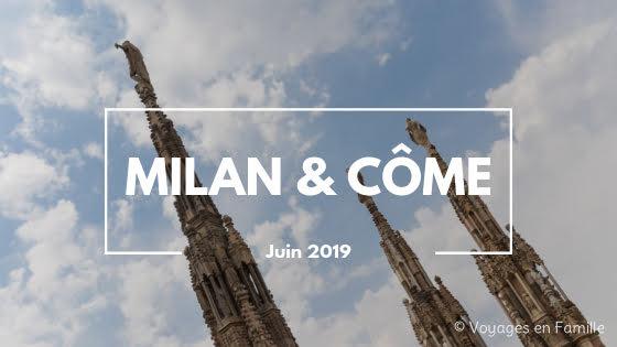 Milan et Come 2019