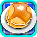 Pancake Breakfast Brunch Maker Icon