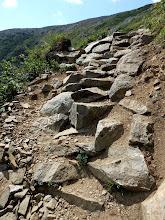 Photo: New work on the Tuckerman Ravine Trail