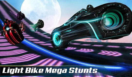 Light Bike Stunt : Motor Bike Racing Games 1.0 app download 12