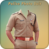 Men Police Suit Photo Editor - Police Dress