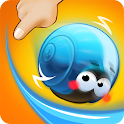 Rolling Snail - Drawing Puzzle icon