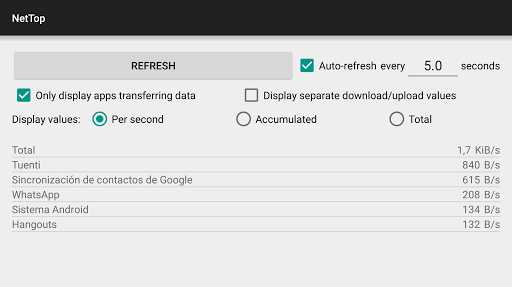 NetTop: RealTime Network Meter screenshot 16
