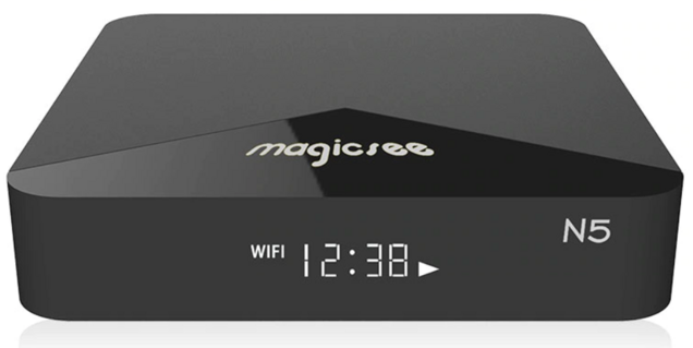 REVIEW] TV Box Magicsee N5 - Amlogic s905x 2/16GB - Android N
