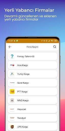 Kargom Nerede - Kargo Takip screenshot 2