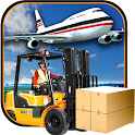 Airport Cargo Truck Drive Duty icon