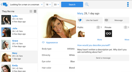 Meet-me: Dating, chat, romance 5.0.28 Screenshots 10