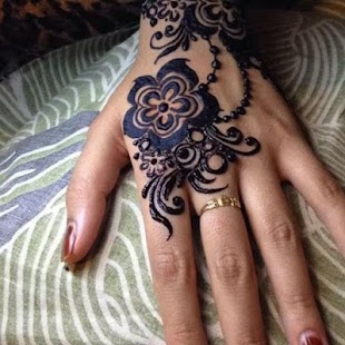 Beautiful Mehndi for Hand - náhled