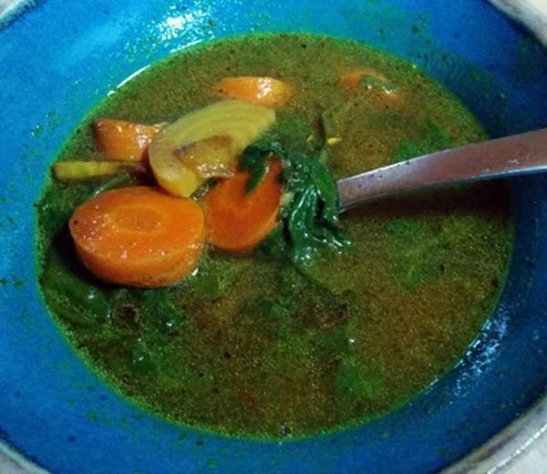 Golden Beet - Carrot Soup Recipe