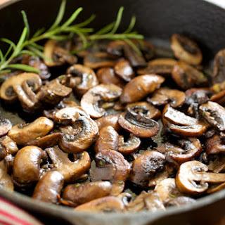 Garlic Butter Sautéed Mushrooms.