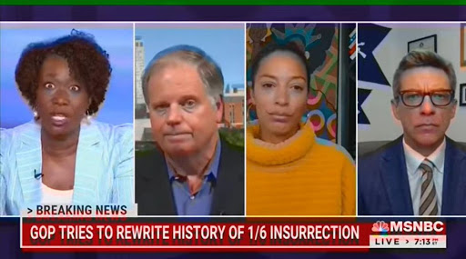 WATCH: MSNBC gets caught apparentlystealth editing Joy Reid's BIZARRE conspiracy theory